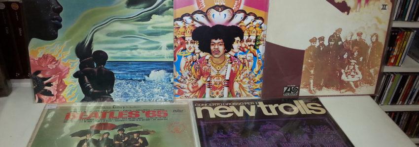 Prime stampe Jazz, rock '60 e '70, musica italiana.