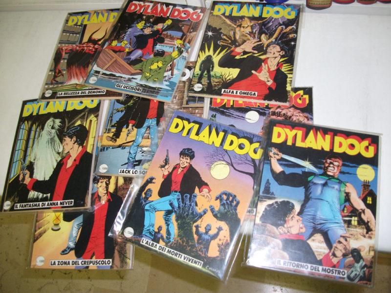 Sequenza Dylan Dog 1-200, originale