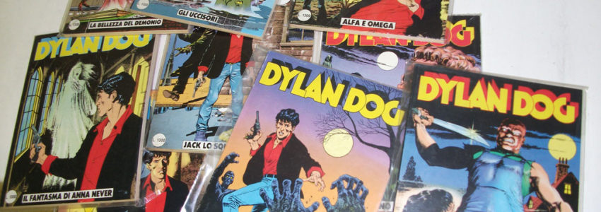 Sequenza Dylan Dog 1-200, originale