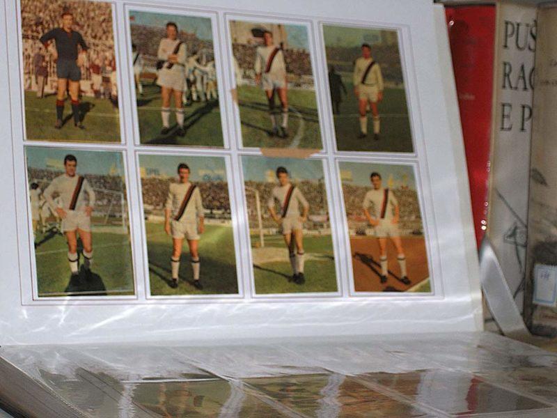 """Serie raccolta calciatori """"Patuzzi"""" 1965-1966"""